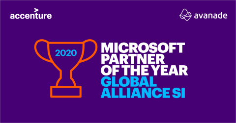 Accenture and Avanade Named Microsoft Global Partner of the Year for 15th Time (Graphic: Business Wire)