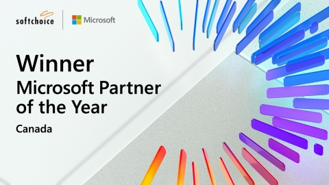 Softchoice wins Microsoft's Canada Partner of the Year, 2020 (Photo: Business Wire)