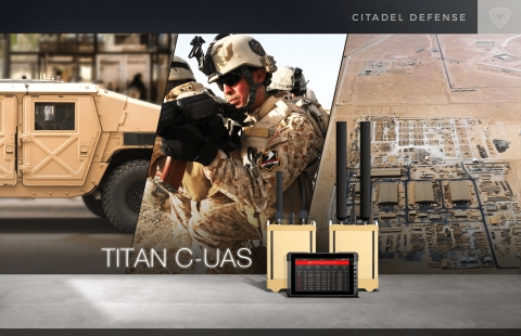Titan systems are proven effective for counter drone protection across fixed, mobile and dismounted operations. (Photo: Business Wire)