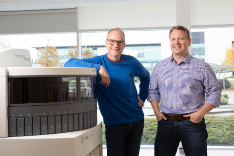 Dr Ian Milton, Director; and Colin Tristram, Co-Founder and Director, HistoCyte Laboratories (Photo: Business Wire)
