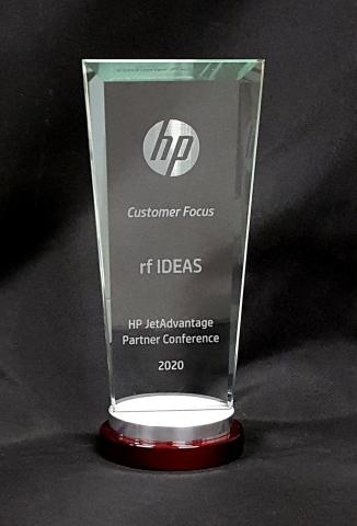 HP JetAdvantage Partner Award for Customer Focus (Photo: Business Wire)