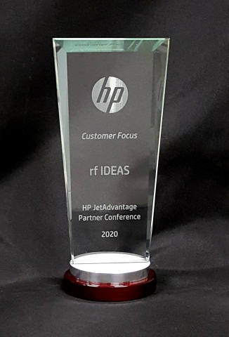 HP JetAdvantage Partner Award for Customer Focus (Photo: Business Wire)