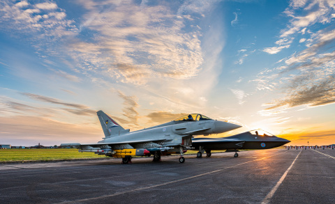 Stratasys FDM additive manufacturing is used across ground equipment operations for the Typhoon fighter aircraft (Photo: Business Wire).