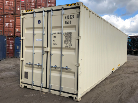 Western Container Sales has added 20' and 40' steel shipping containers to their portable storage rental fleet in Dallas and Houston. (Photo: Business Wire)