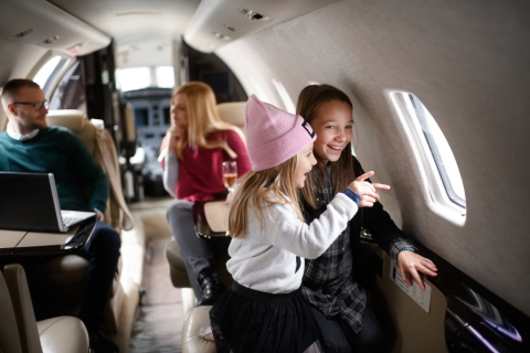 TCS World Travel debuts new all-inclusive personalized trips by private charter planes for families and friends to explore the best of North America's majestic landscapes and great outdoors. (Photo: Business Wire)