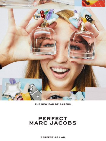 Perfect Marc Jacobs Campaign Featuring Lila Moss, shot by Juergen Teller