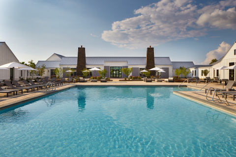 Outdoor pool at Miraval Berkshires. (Photo: Business Wire)