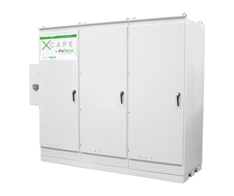 Xcape, a resilient microgrid solution. Photo provided by EnTech Solutions. (Photo: Business Wire)