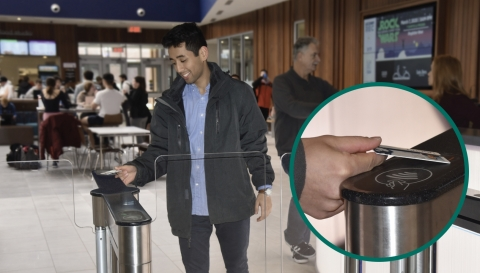The HID FARGO Connect cloud-based platform has enabled The University of Connecticut to decentralize student ID issuance, and Seos smart cards have strengthened security across its campus network. (Photo courtesy of The University of Connecticut, Prabhas KC)