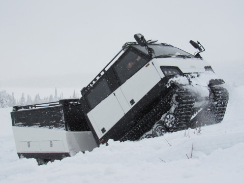 BAE Systems has offered the all-terrain Beowulf for the Army's CATV program. Beowulf can operate in arctic environments and under the harshest conditions. (Photo: BAE Systems)