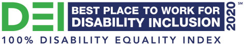 "Aramark was named one of the ""Best Places to Work for Disability Inclusion,"" for the fourth year in a row, by the 2020 Disability Equality Index, with a top-score of 100%."