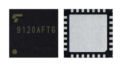 Toshiba: a constant-current 2-phase stepping motor driver TB9120AFTG for automotive applications. (Photo: Business Wire)