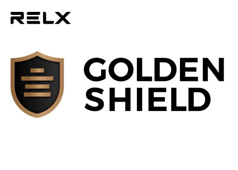 RELX GOLDEN SHIELD (Graphic: Business Wire)