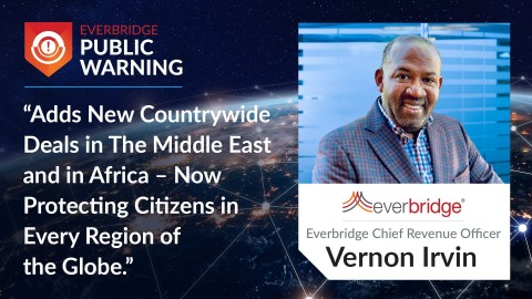 Everbridge Adds New Countrywide Deals in The Middle East and in Africa. (Graphic: Business Wire)