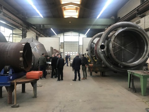 Figure 1 - Tour of Ebner Fabrication Facility in Eiterfeld, Germany (Photo: Business Wire)