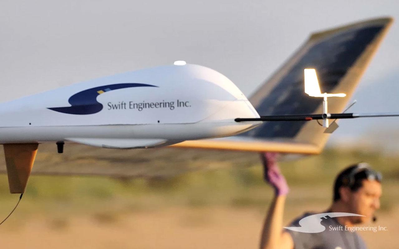 American Made Swift High-Altitude-Long-Endurance UAS Completes Landmark First Flight
