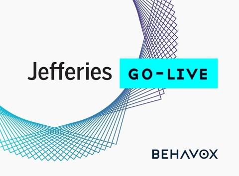 Le groupe Jefferies met en œuvre la solution de conformité de Behavox pour améliorer la rapidité et la souplesse des activités de gestion globale des risques (Graphic: Business Wire)