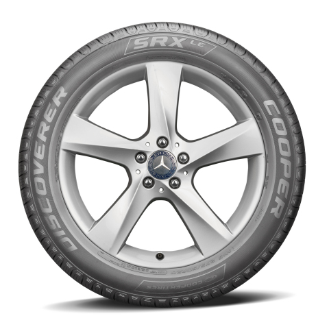 Mercedes-Benz AG has selected the Cooper Discoverer SRXLE™ tire as original equipment (OE) on the new Mercedes-Benz GLS. (Photo: Business Wire)