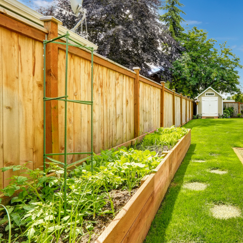 Wood is a popular fencing material, as it's available in a vast range of sizes and styles. (Photo: Business Wire)