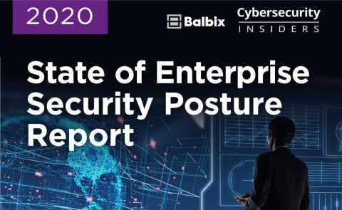 Balbix Inc. releases its 2020 Cybersecurity 360 Report. (Graphic: Business Wire)