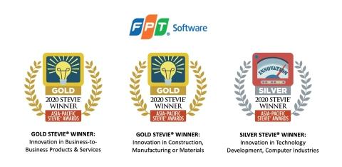 FPTソフトウェアの製品が2020年スティービー・アジア・パシフィック賞で2個のゴールド賞と1個のシルバー賞を獲得しました。(写真:ビジネスワイヤ)