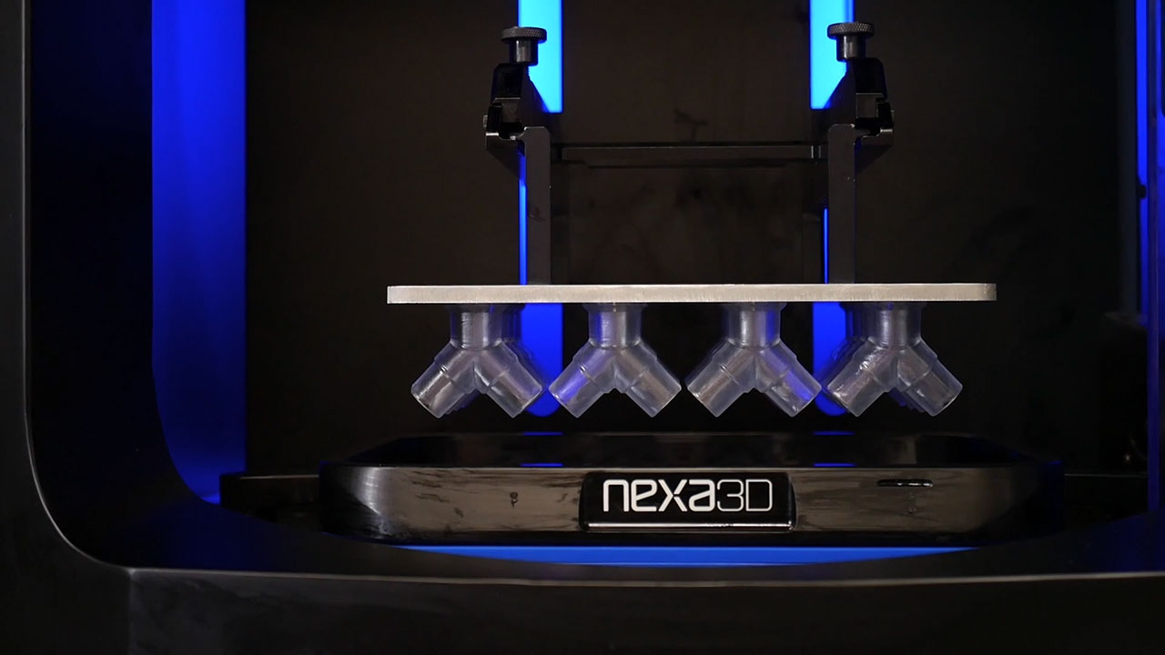 Watch Nexa3D's NXE400 3D print products made of the new xMED412 material