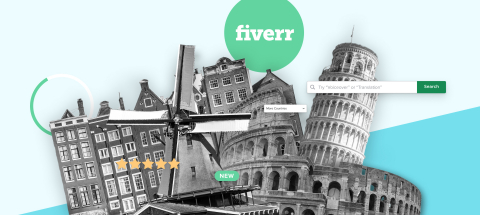 Fiverr Announces Expansion into Italy and the Netherlands (Graphic: Business Wire)