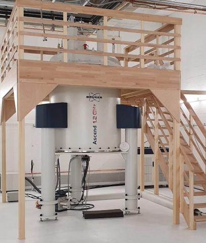 Bruker Avance™ NEO 1.2 GHz NMR system at the Eidgenössische Technische Hochschule (ETH) Zürich (Photo: Business Wire)