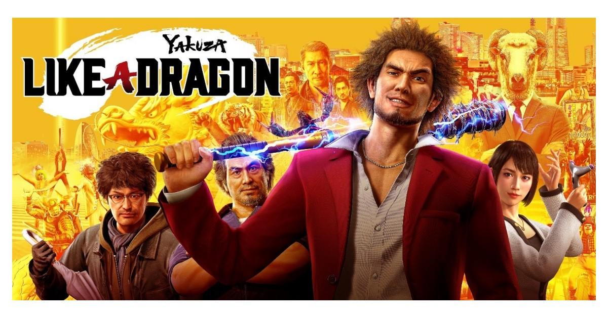 yakuza like a dragon ps4 box art
