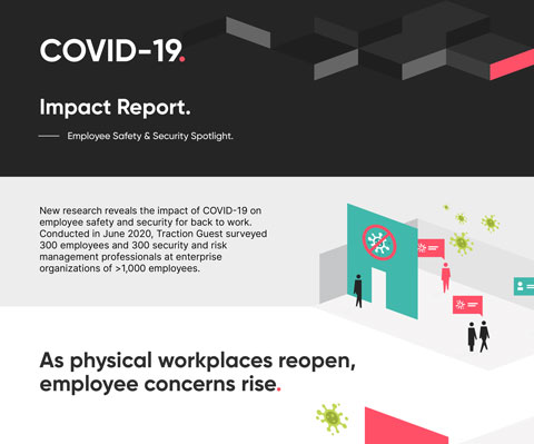 Infographic: New research reveals the impact of the COVID-19 pandemic on employee safety and security