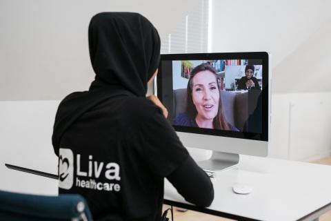 Liva Healthcare health coach (Photo: Business Wire)