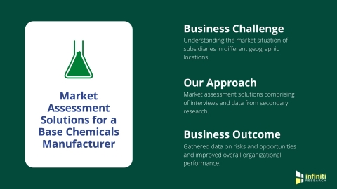 Market Assessment Solutions for a Base Chemicals Manufacturer (Graphic: Business Wire)