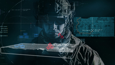 The Intelligence Knowledge Environment is a software framework of modular data and artificial intelligence analytic capabilities built to autonomously transform information into knowledge. (Photo: BAE Systems)