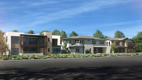 Exterior rendering of Atlas by The New Home Company. (Photo: Business Wire)