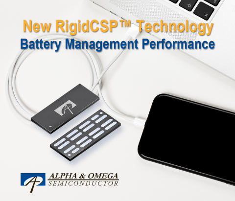 New RigidCSP Technology for Battery Management Applications (Graphic: Business Wire)