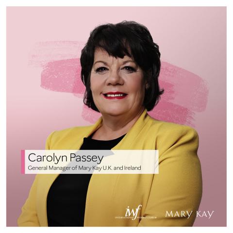 Carolyn Passey, General Manager, Mary Kay United Kingdom & Ireland (Photo: Mary Kay Inc.)