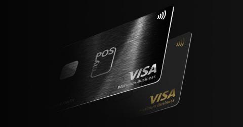 myPOS Visa Platinum Cards (Graphic: Business Wire)