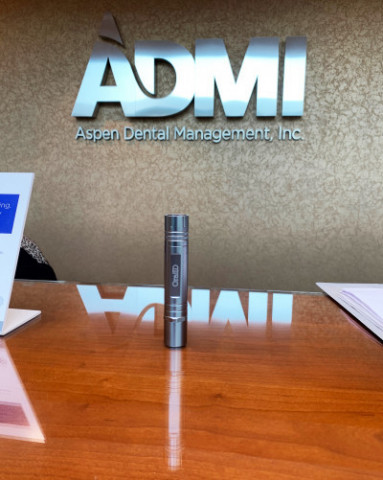 Forward Science announces an agreement with Aspen Dental Management, Inc. (ADMI) that makes the OralID® enhanced oral cancer screening device available to independent dentists in 830-plus Aspen Dental branded offices. (Photo: Business Wire)