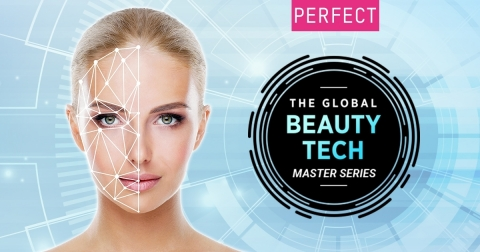 Perfect Corp. launches The Global Beauty Tech Master Series webinar presenting the latest in artificial intelligence and augmented reality beauty technologies (Graphic: Business Wire)
