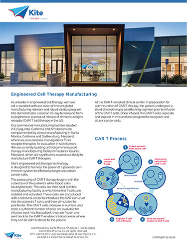 A step-by-step look at the cell therapy manufacturing process