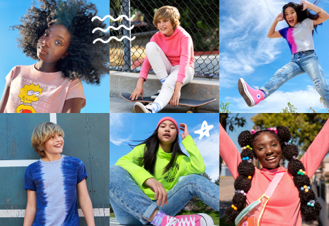 Old Navy Launches First-Ever Tween Line with POPSUGAR (Photo: Business Wire)