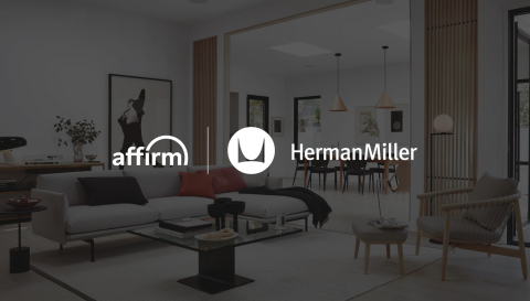 Affirm now available across Herman Miller Retail's portfolio of brands (Photo: Business Wire)