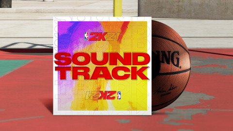 2K today announced that NBA® 2K21, the next iteration of the top-rated and top-selling NBA video game simulation series of the past 19 years*, is unveiling its brand new soundtrack that will set a record as the largest and most definitive collection of music ever assembled for a sports video game, establishing a gold standard for in-game music curation. (Graphic: Business Wire)