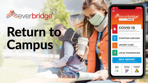 Several Colleges and Universities Select Everbridge COVID-19 Shield: Return to Campus Software Solution (Photo: Business Wire)