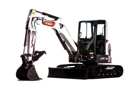 Bobcat E50 Compact Excavator (Photo: Business Wire)