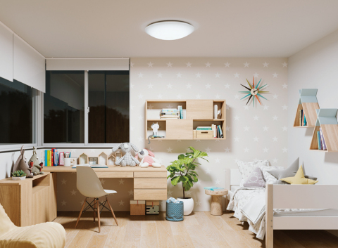 Fig. 1. SunLike Series natural spectrum LEDs adopted by Koizumi for children's room lighting (Photo: Business Wire)