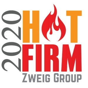 Westwood ranks #4 on Zweig Group's national 2020 Hot Firms list (Graphic: Business Wire)