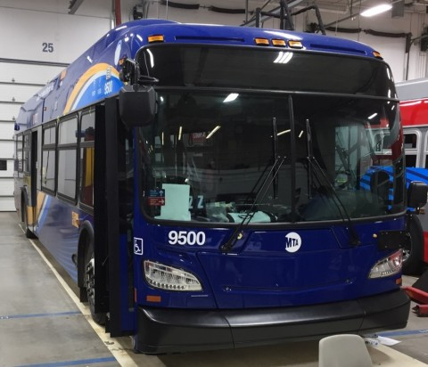 New York City Transit Authority places order for Allison electric hybrid equipped New Flyer buses to upgrade its fleet. (Photo: Business Wire)