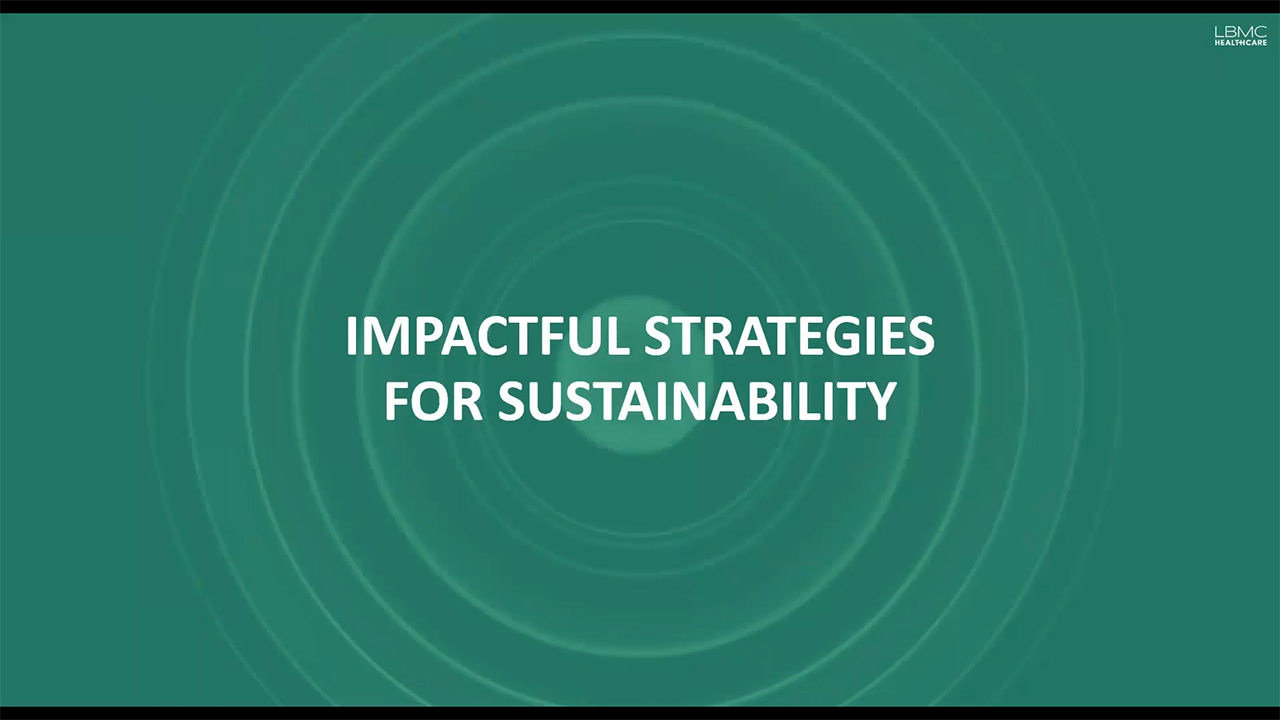 Sustainability planning describes the various quantitative and qualitative evaluations that together inform an impactful strategy to strengthen the organization's long-term role and relevance within the markets served. Being sustainable is key especially if you are a large employer for the local area. Four high-level areas we review include operational assessment, financial & reimbursement assessment, competitive market assessment, and shareholder assessment. Learn more in LBMC's full webinar at https://www.lbmc.com/sustainability
