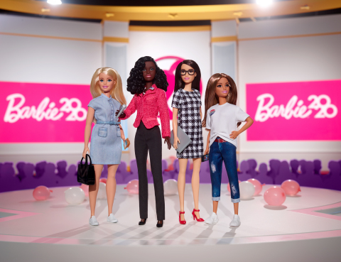 Barbie® Unveils 2020 Campaign Team Set to Encourage All Girls to Raise Their Voice (Photo: Business Wire)